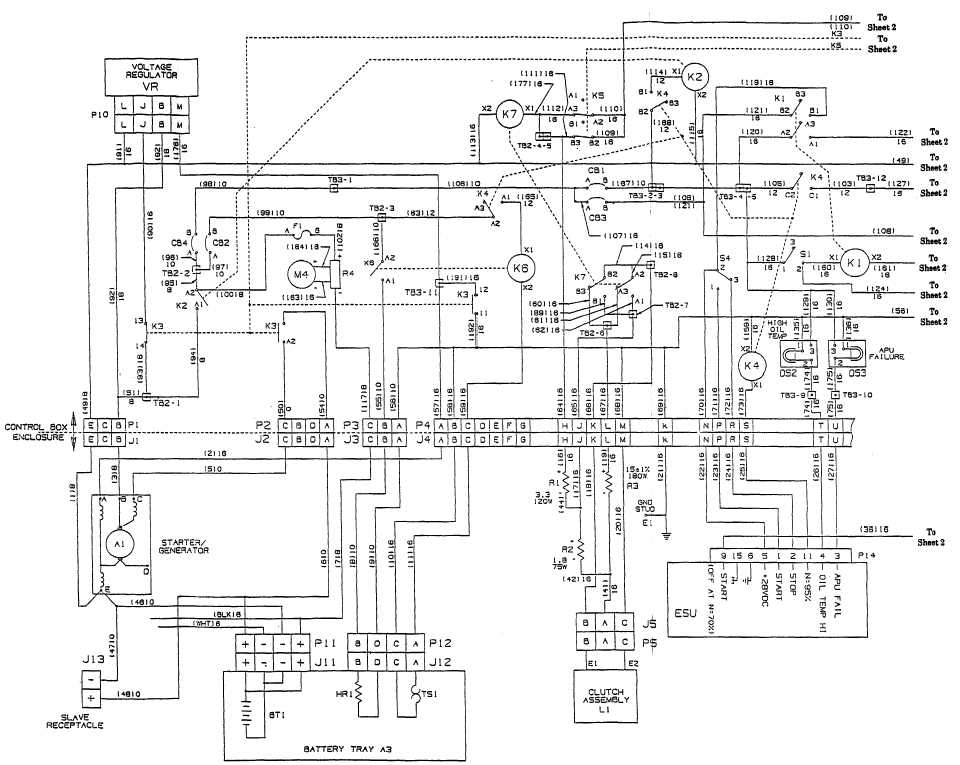 TM 10 4320 342 24_577_1 figure fo 2 600 gpm pump wiring diagram (sheet 1 of 3)
