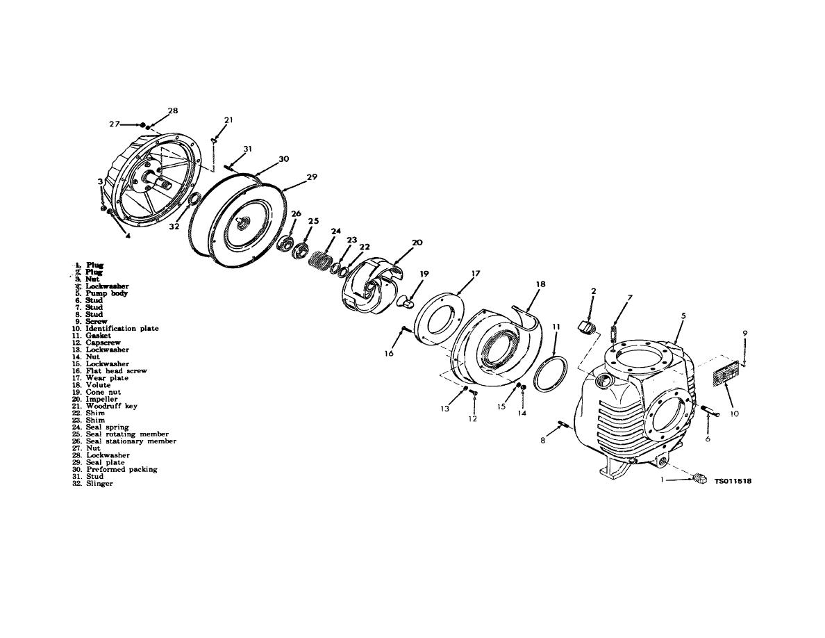 mack differential parts diagram